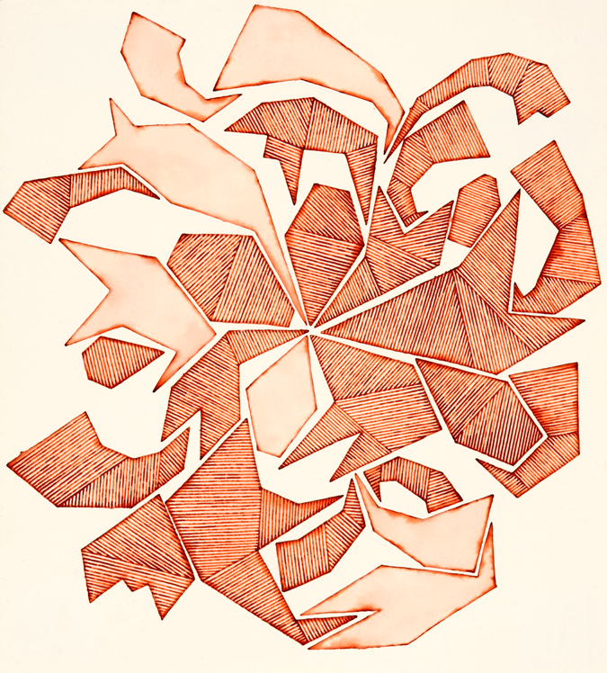 Wooden Trojan Horse Origami Fragments