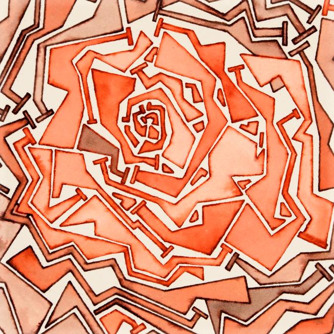 Steampunk Rosette